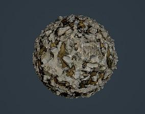 Rock Ground Seamless PBR Texture 06 3D model