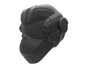 Sci Fi Helmet 3D print model