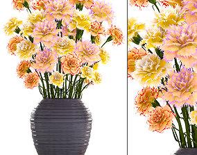 Bouquet of flowers Carnation 3D model