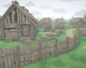 RPG Poly Pack - Abandoned Village 3D model game-ready