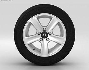 3D model Hyundai i30 Wheel 15 inch 002
