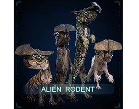 Alien Rodent 3D asset