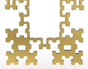 fractal pendant 3D print model