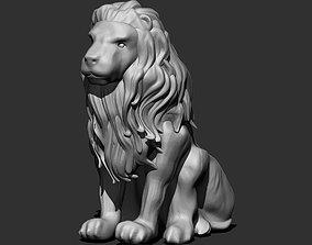 Lion Statue statue 3D print model