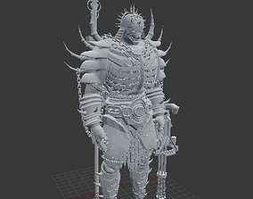 Samurai Warrior 3D print model