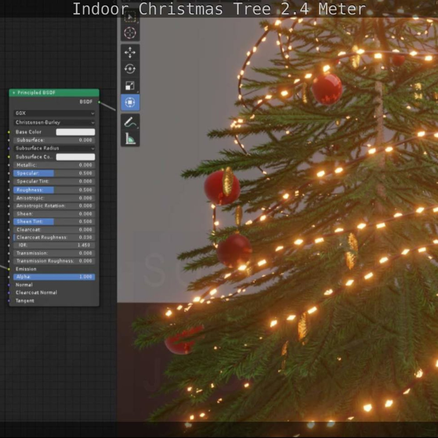 Indoor Christmas Tree 2.4 meter