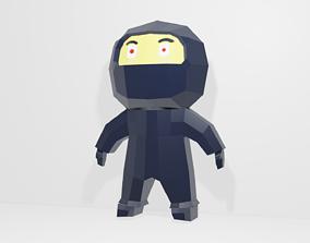 3D model VR / AR ready Ninja