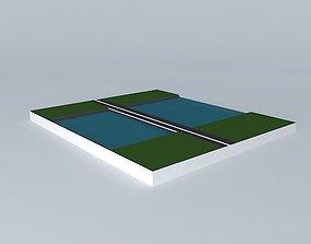 A bridge 3D model