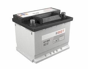 3D asset Battery 01 clear PBR