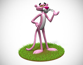 old Pink Panther 3D printable model