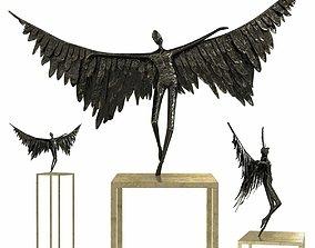 3D Gardeco icarus bronze sculpture
