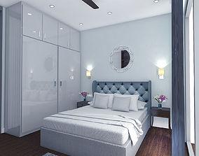 interior design bedroom 3D model