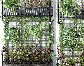 3D Wall Grid Plant Pot 5