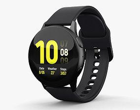 Samsung Galaxy Watch Active 2 40mm Aluminium Aqua 3D model