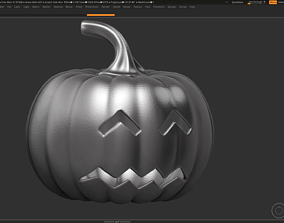 3D print model art halloween pumpkin 10