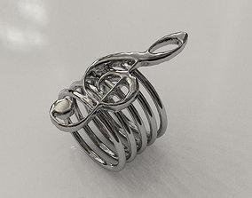 3D print model Music Ring