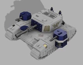 Bane blade style tank makers 3D print model