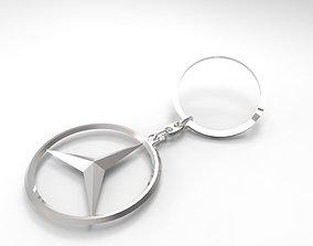 Mercedes Key Ring 3D model