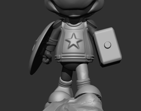 3D printable model Captain Mickey