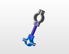 Marker Holder for Airbrush or Penbrush 3D print model