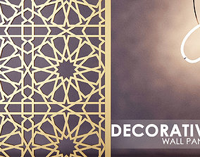 3D ISLAMIC PATTERN WALL PANEL