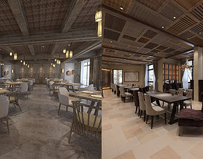 Collection of Restaurant Interior 1 or 2 vray 3D