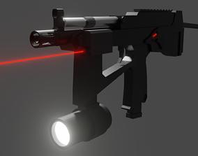 3D Custom PP2000 Low Poly