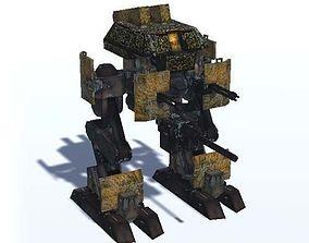 3D model Mecha Ashigaru