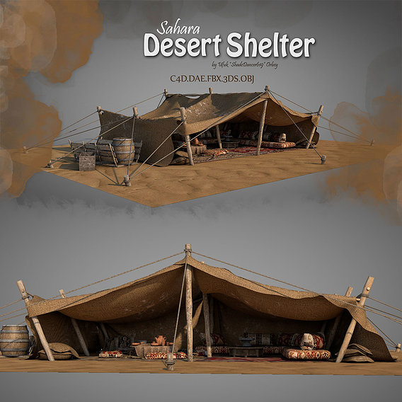 Traditional Desert Tents