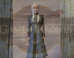 Daenerys Targaryen ready for full color 3D printing