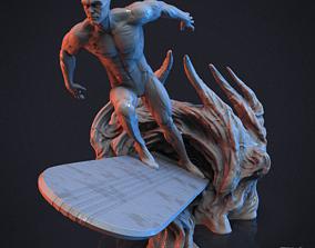 Silver Surfer 3D print model