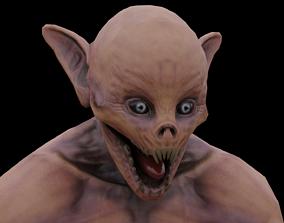 humanoid monster 3D model