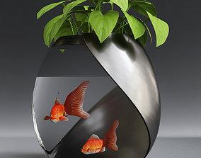 Aquarium waste 3D model
