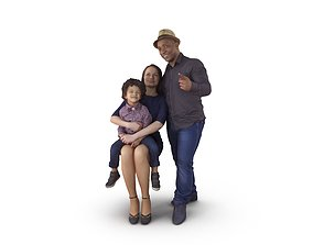 3D model Family