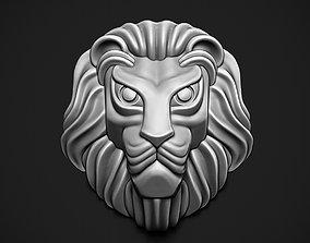 sculpture 3D print model Lion Head