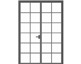 doorway 3D Double Glass Door