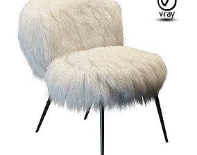 Chair Baxter Nepal fur 3D