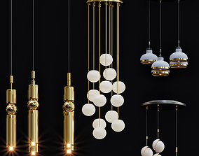 3D model Lee Broom pentant lamp collections