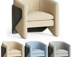3D model Thea Chair West elm chair