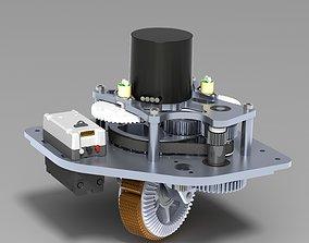 wheel 360 3D printable model