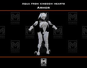 3D print model Aqua armor Kingdom Hearts