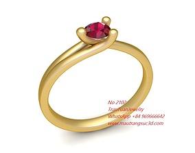 2102 Diamond Ring New Design 3D print model