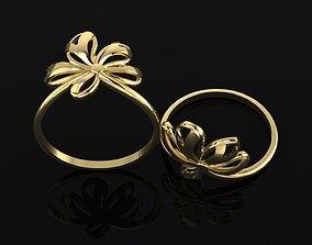 Ring 10 Light ring for females 3D printable model