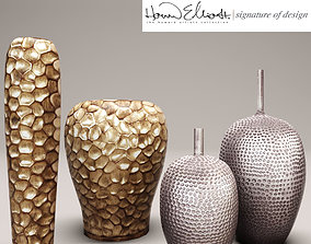 3D model Collection of vases