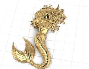 3D print model Mermaid Jewery
