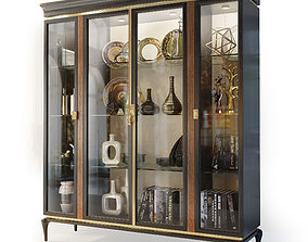 3D Cabinet showcase Dilan by AR Arredamenti