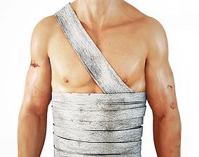 Bandages 3D asset