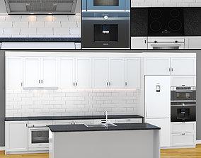 Modern Kitchen 2 3D model