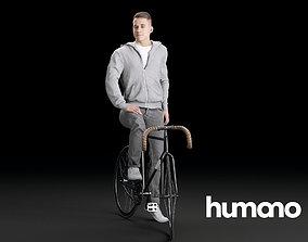 Humano Biking Man 0710 3D