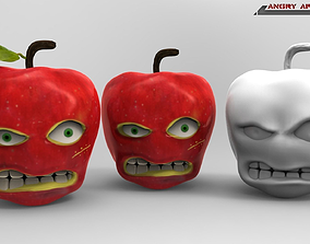 Angry Apple Printable